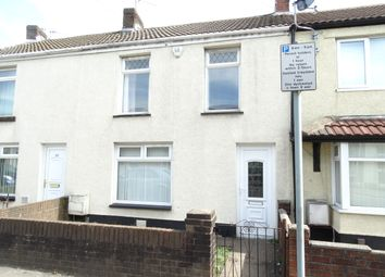 Thumbnail 3 bed terraced house to rent in Llangyfelach Road, Brynhyfryd, Swansea