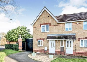 Thumbnail 2 bed terraced house for sale in Meadowsweet Drive, Elstow, Bedford, Bedfordshire