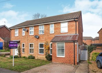 Thumbnail 3 bed semi-detached house for sale in Chapel Road, Huntingdon