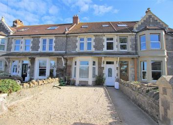 Thumbnail 5 bed terraced house for sale in Links Road, Uphill, Weston-Super-Mare