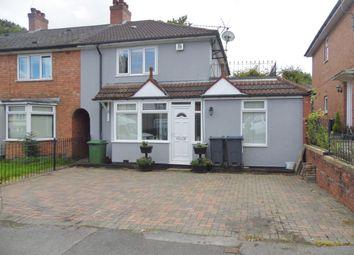 Thumbnail 4 bed end terrace house for sale in Norrington Road, Northfield, Birmingham