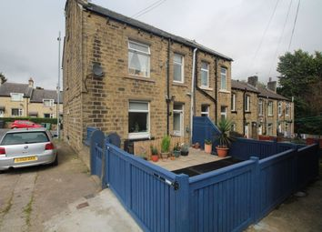 Thumbnail 3 bedroom terraced house for sale in Longwood Road, Paddock, Huddersfield
