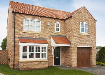 Thumbnail 4 bed detached house for sale in Corringham Road, Gainsborough