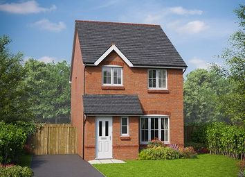 Thumbnail 3 bedroom detached house for sale in The Clwyd, Plots 18 & 19, Rossmore Road East, Ellesmere Port, Cheshire