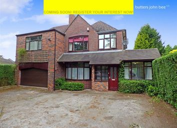 Thumbnail 4 bedroom detached house for sale in Common Lane, Stoke-On-Trent, Staffordshire