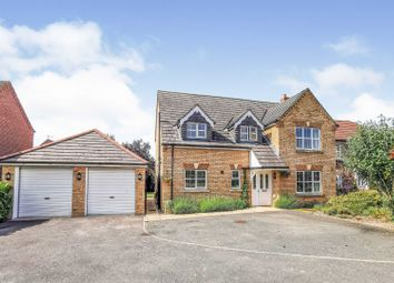 Thumbnail 4 bed detached house for sale in Grange Drive, Tattershall