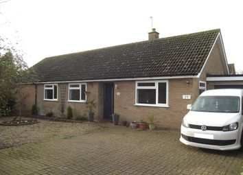Thumbnail 4 bed detached bungalow for sale in Briar Hill, Woolpit, Bury St. Edmunds