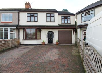 Thumbnail 4 bed semi-detached house for sale in Ebro Crescent, Binley, Coventry