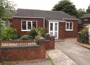 Thumbnail 2 bed semi-detached bungalow to rent in Bridgwater Close, Walsall Wood, Walsall