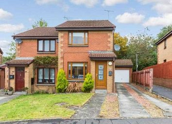 Thumbnail 2 bed semi-detached house for sale in Dunnottar Crescent, Stewartfield, East Kilbride