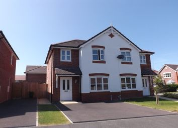 Thumbnail 3 bed property to rent in Ffordd Parc Castell, Bodelwyddan, Rhyl