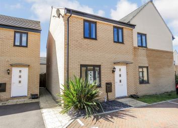 Thumbnail 2 bed semi-detached house for sale in Wren Close, St. Ives, Cambridgeshire
