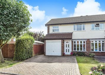 Thumbnail 3 bed semi-detached house for sale in Durham Close, Wokingham, Berkshire