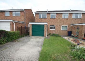 Thumbnail 3 bed semi-detached house to rent in Battle Road, Tewkesbury Park, Tewkesbury