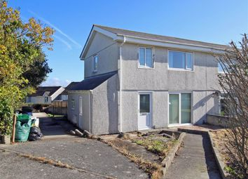 Thumbnail 3 bed semi-detached house for sale in Coombe Park Lane, Honicknowle, Plymouth