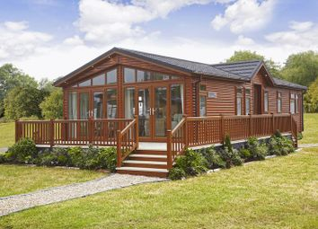 Thumbnail 3 bed lodge for sale in Tanner Farm Park, Marden, Kent