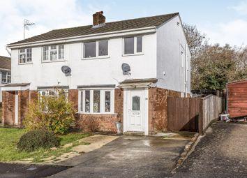 Thumbnail 2 bed semi-detached house for sale in Highfields, Brackla, Bridgend
