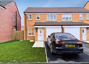 Thumbnail 3 bedroom semi-detached house to rent in Shillhope Drive, Crofton Grange Estate, Blyth