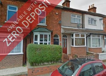 Thumbnail 3 bedroom terraced house to rent in Thrunscoe Road, Cleethorpes