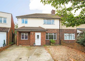 Thumbnail 4 bed semi-detached house for sale in Kinross Drive, Sunbury-On-Thames