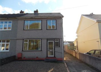 Thumbnail 3 bed semi-detached house for sale in Alexandra Road, Illogan, Redruth