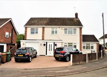 Thumbnail 4 bed detached house for sale in Princes Close, Anstey, Leicester