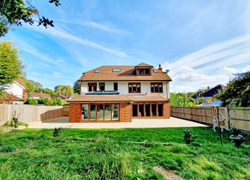 Thumbnail 5 bed detached house for sale in Farmhouse Close, Pyrford, Woking