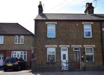 Thumbnail 2 bedroom end terrace house for sale in New Hythe Lane, Larkfield, Kent