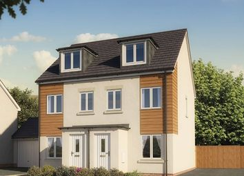 "Thumbnail 3 bedroom town house for sale in ""The Souter "" at Imperial Park, Wills Way, Bristol"
