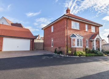 Thumbnail 4 bed detached house for sale in Kiln Close, Dunmow