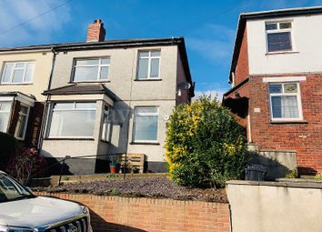 Thumbnail 3 bed semi-detached house to rent in Milton Road, Newport, Gwent .