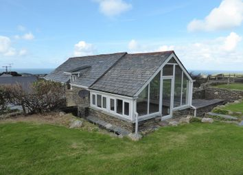 Thumbnail 4 bed detached house to rent in Trenale, Tintagel