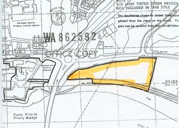 Thumbnail Land for sale in Land Near Cardigan Hospital, Cardigan, Ceredigion