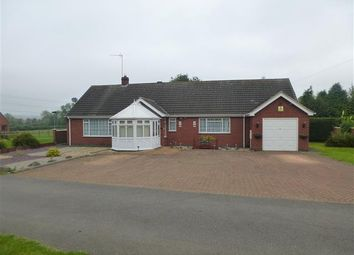 Thumbnail 3 bedroom detached bungalow for sale in Station Road, Glenfield, Leicester