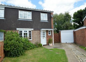 Thumbnail 3 bed semi-detached house for sale in Drake Close, Finchampstead