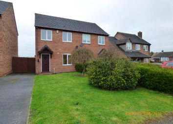 Thumbnail 3 bed semi-detached house to rent in Squirrel Walk, Overseal, Swadlincote
