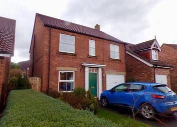 Thumbnail 4 bed detached house for sale in Pankhurst Close, Brompton On Swale, Richmond, North Yorkshire