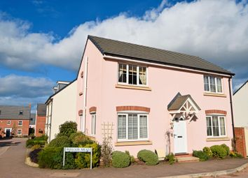 Thumbnail 3 bedroom detached house for sale in Parlour Mead, Culllompton