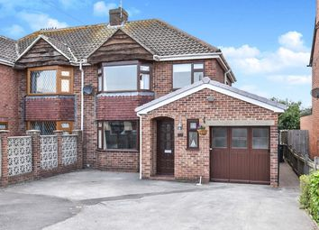 Thumbnail 3 bed semi-detached house for sale in Church Road, Stretton, Burton-On-Trent