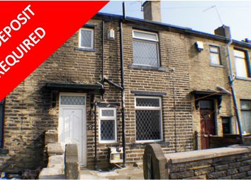 Thumbnail 1 bed terraced house to rent in Lidget Place, Bradford BD7, Bradford,