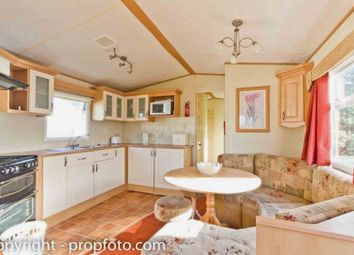 Thumbnail 3 bed mobile/park home for sale in Main Road, Ventnor