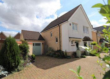 Thumbnail 3 bed detached house for sale in Field Gate Close, St. Neots