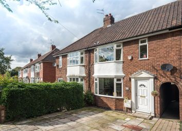 Thumbnail 3 bedroom terraced house for sale in Hamilton Drive East, York, North Yorkshire
