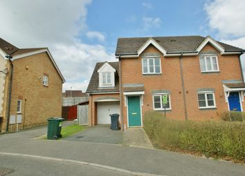 Thumbnail 3 bed semi-detached house to rent in Lodge Wood Drive, Ashford