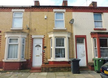 Thumbnail 1 bed terraced house for sale in Parkside Road, Tranmere, Birkenhead