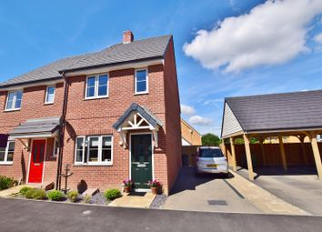 Thumbnail 2 bed semi-detached house for sale in Ryeland Way, Bridgefield