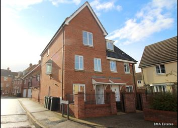 Thumbnail 4 bedroom town house to rent in Woodpecker Way, Costessey, Norwich