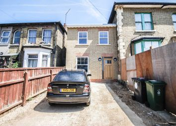 Thumbnail 3 bed end terrace house for sale in Vicarage Road, London