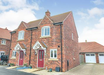 Thumbnail 2 bed semi-detached house for sale in Milbank Way, Steventon, Abingdon