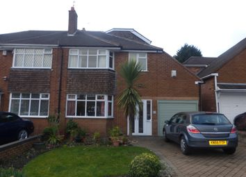 Thumbnail 4 bed semi-detached house for sale in Canberra Road, Walsall